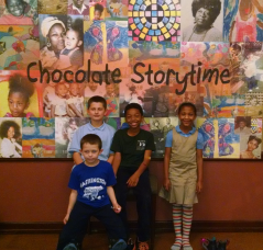 1st of the year Chocolate Storytime