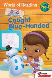 caught blue handed