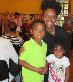 Natasha Bowser and Family